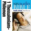 NIV, Audio Bible, Pure Voice: 1 and 2 Thessalonians; 1 and 2 Timothy; Titus, and Philemon, Audio Download (Narrated by Barbara Rosenblat), Zondervan Publishing
