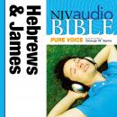 NIV, Audio Bible, Pure Voice: Hebrews and James, Audio Download (Narrated by George W. Sarris), Zondervan Publishing