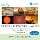 Errors, Blunders, and Lies: How to Tell the Difference Audiobook