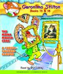 Geronimo Stilton Books #15: The Mona Mousa Code & #16: A Cheese-Colored Camper Audiobook