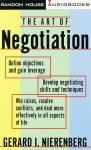 Art of Negotiation, Gerard I. Nierenberg