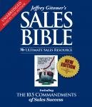 Sales Bible: The Ultimate Sales Resource, Jeffrey Gitomer