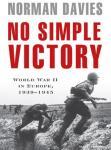 No Simple Victory: World War II in Europe, 1939-1945 Audiobook