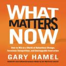 What Matters Now: How to Win in a World of Relentless Change, Ferocious Competition, and Unstoppable Innovation, Gary Hamel