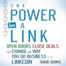 Power in a Link: Open Doors, Close Deals, and Change the Way You Do Business Using LinkedIn, Dave Gowel