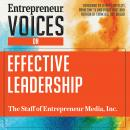 Entrepreneur Voices on Effective Leadership Audiobook