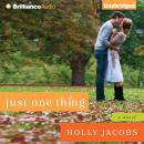 Just One Thing, Holly Jacobs
