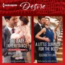 Baby Inheritance & A Little Surprise for the Boss, Elizabeth Lane, Maureen Child