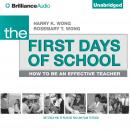 First Days of School, Rosemary T. Wong, Harry K. Wong
