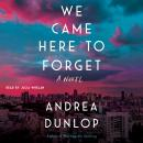 We Came Here to Forget: A Novel Audiobook