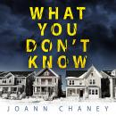 What You Don't Know Audiobook