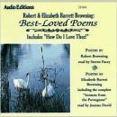 Robert and Elizabeth Barrett Browning: Best-Loved Poems Audiobook
