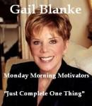 Just Complete One Thing, Gail Blanke