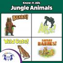 Know-It-Alls! Jungle Animals: Growing Minds with Music, Lisa Mcclatchy, Christopher Nicholas, Carol Harrison, Diane Muldrow