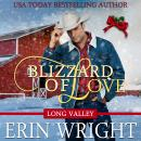 Blizzard of Love: A Western Holiday Romance Novella (Long Valley Romance Book 2), Erin Wright