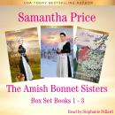 Amish Bonnet Sisters series Boxed Set Books 1 - 3: Amish Mercy: Amish Honor: A Simple Kiss (Amish Ro Audiobook