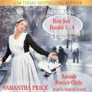 Amish Foster Girls Books 1 - 4: Complete Series: Amish Romance Audiobook