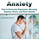 Anxiety: How to Overcome Depression, Worrying, Shyness, Stress, and Panic Attacks Audiobook