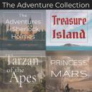 Adventure Collection, The - 4 Classic Novels: Unabridged Audiobooks of Treasure Island, A Princess o Audiobook