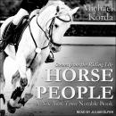 Horse People: Scenes from the Riding Life Audiobook