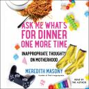 Ask Me What's for Dinner One More Time: Inappropriate Thoughts on Motherhood Audiobook