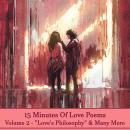 15 Minutes Of Love Poems - Volume 2 Audiobook