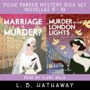 Marriage is Murder? + Murder in the London Lights: Posie Parker Novellas #9 + #10 - Double edition Audiobook