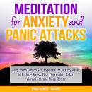Meditation for Anxiety and Panic Attacks: Deep Sleep Guided Self Hypnosis for Anxiety Relief, to Reduce Stress, Beat Depression, Relax, Worry Less, and Sleep Better (Self Hypnosis, Guided Imagery, Pos, Mindfulness Training