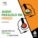 Áudio Paralelo em Hindi - Aprender Hindi com 501 Frases em Áudio Paralelo - Volume 2 Audiobook