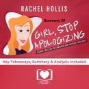 Girl, Stop Apologizing by Rachel Hollis, Best Self Audio