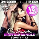 Cuckqueans Erotica Bundle 12-Pack : Books 1 - 12 (Threesome Erotica BDSM Erotica Lesbian Erotica Col Audiobook