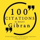 100 citations de Khalil Gibran Audiobook
