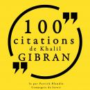 100 citations de Khalil Gibran: Collection 100 citations Audiobook