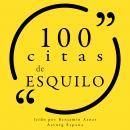 100 citas de Esquilo: Colección 100 citas de Audiobook