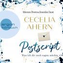 Postscript - Was ich dir noch sagen möchte (Gekürzte Lesung) Audiobook