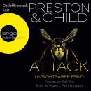 Attack - Unsichtbarer Feind - Ein neuer Fall für Special Agent Pendergast (Ungekürzte Lesung) Audiobook