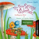 Die kleine Spinne Widerlich - 2 Geschichten - Ausflug ans Meer & Komm, wir spielen Schule Audiobook