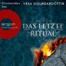 Das letzte Ritual  - Island-Krimi (Ungekürzte Fassung) Audiobook