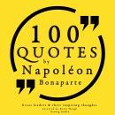 100 quotes by Napoleon Bonaparte Audiobook