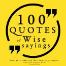 100 Wise sayings, Various Authors
