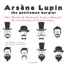 Two Hundred Thousand Francs Reward, The Confessions Of Arsène Lupin, Maurice Leblanc