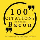 100 citations de Francis Bacon, Collection 100 Citations