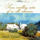 Some Rambling Notes of an Idle Excursion, Mark Twain