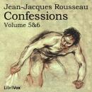 Confessions, volumes 5 and 6, Jean Jacques Rousseau