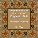 Commentaries on the Laws of England (1765), William Blackstone