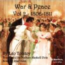 War and Peace Vol. 2 (Dole Translation), Leo Tolstoy