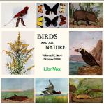 Birds and all Nature, Vol. IV, No 4, October 1898, Various Authors