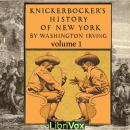 Knickerbocker's History of New York, Vol. 1, Washington Irving