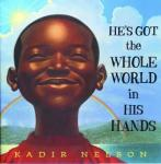 He's got the whole world in his hands, Kadir Nelson